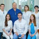 Врачи оториноларингологического отделения